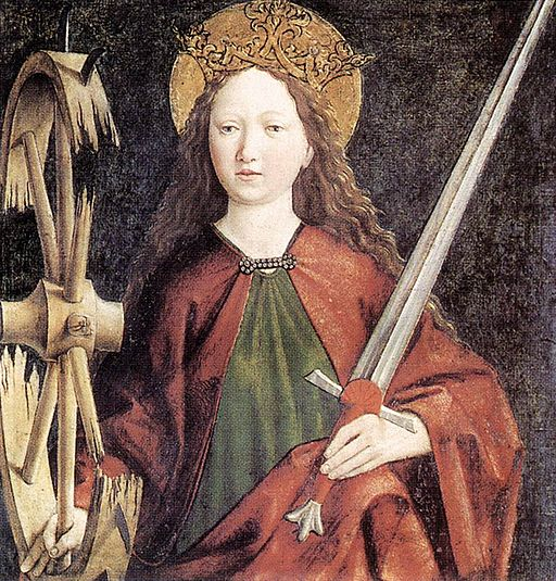 Catherine of Alexandria Pacher