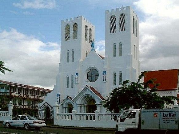 Catholic church in Samoa-2