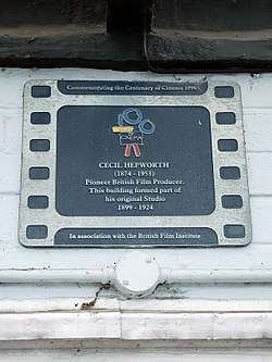 Photo of Film cell plaque number 40885