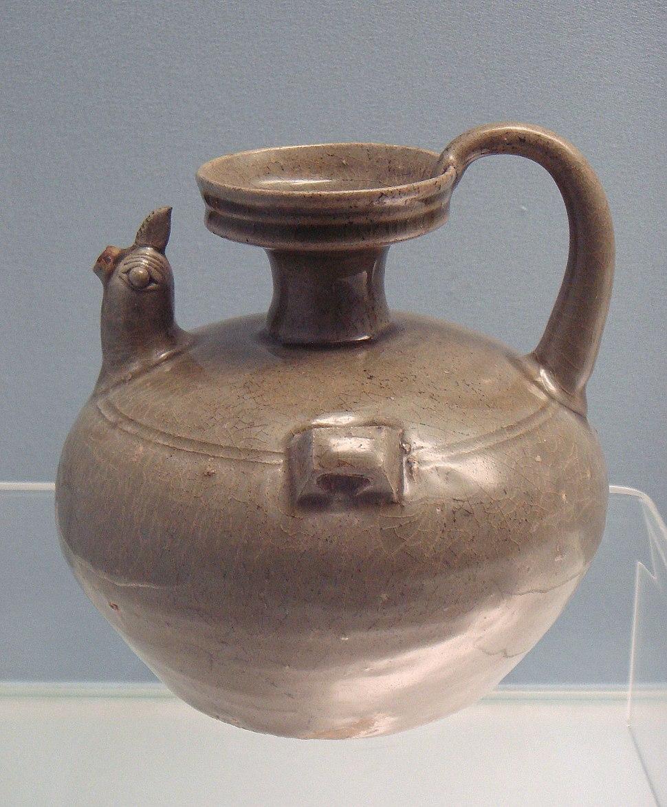 Celadon jar Eastern Jin 317 420 CE