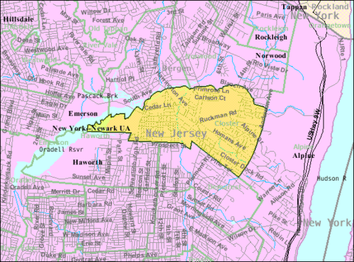 Fort Lee New Jersey Map.Closter New Jersey Wikiwand