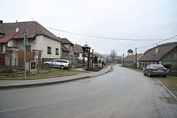 Center of Bransouze, Třebíč District.JPG