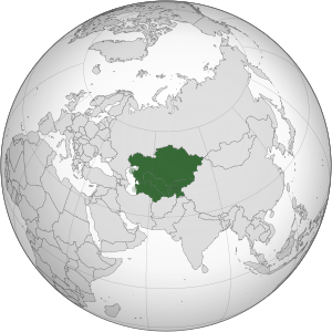 English: Central Asia Español: Asia Central