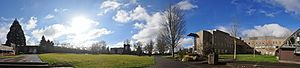 Centralia, Washington - Centralia College Panorama