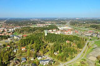 File:Centre of Kaarina, aerial photo, may 2011, kaarina.jpg - Wikimedia Commons