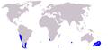 Cetacea range map Dusky Dolphin.PNG