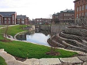 Boneyard Creek - The Boneyard flows through the UIUC Engineering Campus