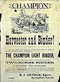 Champion Harvester and Binder, 1882, Advertising Handbill.jpg