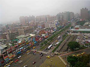 Guishan District - Image: Chang Gung Shopping District