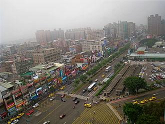 Guishan District - Image: Chang Gung Shopping District