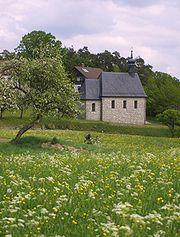 A village chapel in Franconia.