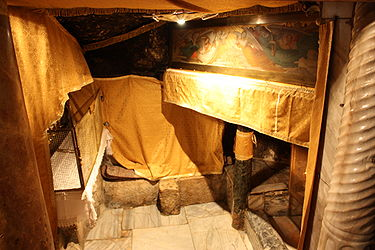 Chapel of the Manger in the Grotto of the Nativity 2010 6.jpg