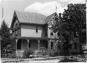 Charles Chamberlain House - c. 1978 photo