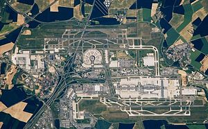 Charles De Gaulle Airport in Paris