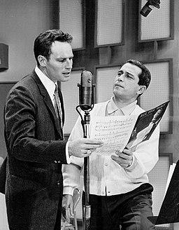 Charlton Heston Perry Como Perry Como Show 1959
