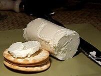 Goat's milk cheese