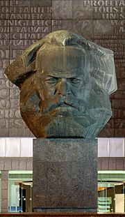 Monumental Bust of Karl Marx (German: Karl Marx Denkmal)
