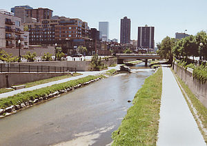 Cherry Creek in Denver, Colorado