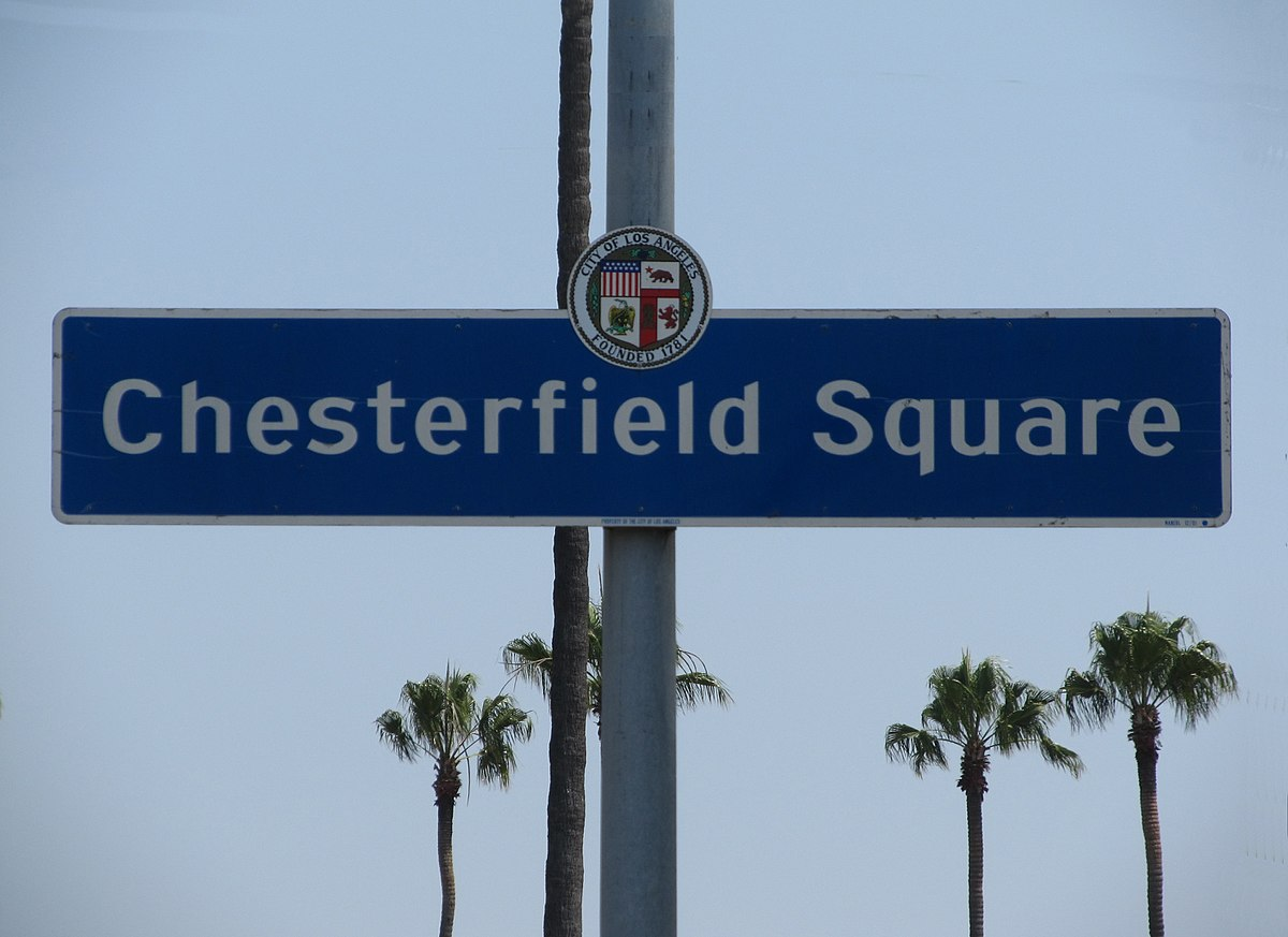chesterfield square  los angeles