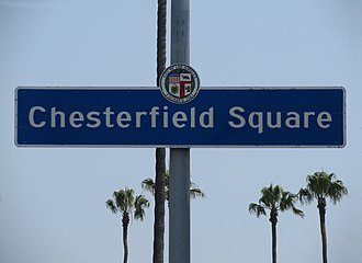 Chesterfield Square, Los Angeles - Image: Chesterfield Square