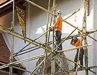 Chiang-Mai Thailand Workers-on-a-bamboo-scaffolding-01.jpg