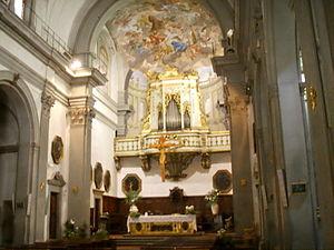 San Giuseppe, Florence - Interior