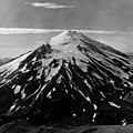 Chiginagak Volcano, mountain galciers on the upper portions of a stratovolcano, August 24, 1960 (GLACIERS 7067).jpg