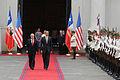 Chile. Honores de la Guardia de La Moneda a Barack Obama (2).jpg