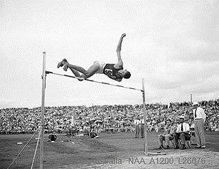 Chilla Porter Australian high jumper