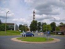 Chimney at York Science Park - geograph.org.uk - 490806.jpg