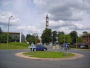 Heslington - Image: Chimney at York Science Park geograph.org.uk 490806