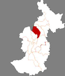 Wuying District District in Heilongjiang, Peoples Republic of China