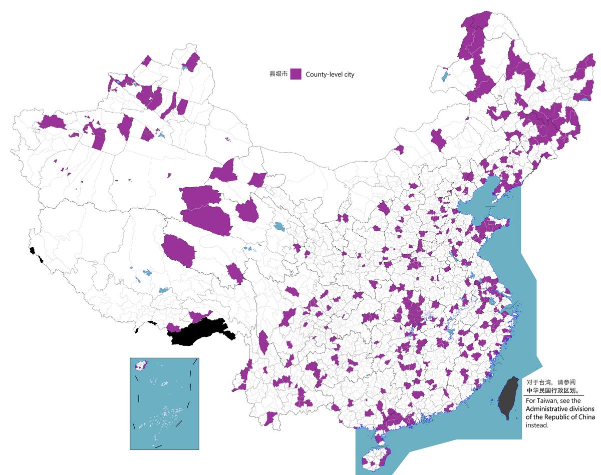 County-level city - Wikipedia