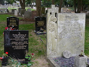 Chingford Mount Cemetery - Kray family graves