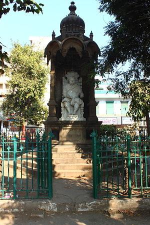 Sir Chinubhai Madhowlal Ranchhodlal, 1st Baronet - A monument dedicated to Sir Chinubhai Ranchhodlal, Bt, in Ahmedabad.