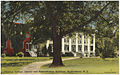Chowan College, library and administration buildings, Murfreesboro, N. C. (5811478159).jpg