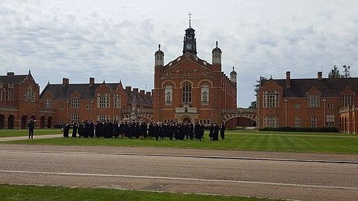 Christ's Hospital School - Quadrangle and Big School