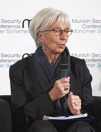 Christine Lagarde - Lagarde during the Munich Security Conference 2018