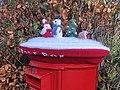 Christmas Crochet Santa's Post Box, Inverkip 2.jpg