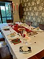 Christmas Eve dinner table with Christmas food 03.jpg