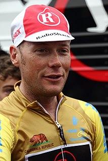 Chris Horner American road bicycle racer