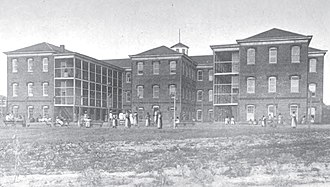 Central State Hospital (Virginia) - Building for chronically ill females