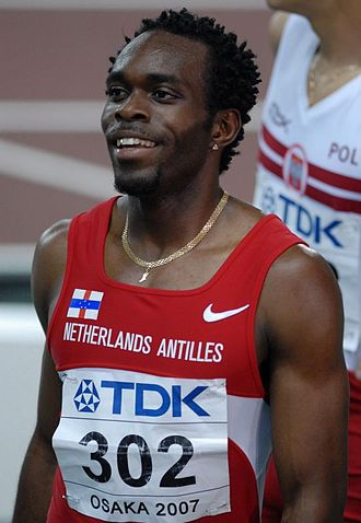 Athletics at the 2006 Central American and Caribbean Games - Churandy Martina won both golds for the Netherlands Antilles.