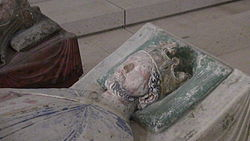 Church of Fontevraud Abbey Richard I effigy2.jpg
