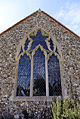 Church of St Michael, Leaden Roding, Essex, England - chancel east window.jpg
