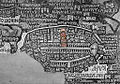 Church of the Holy Sepulchre in Madaba map.jpg