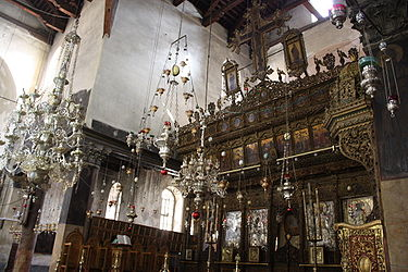 Church of the Nativity iconostasis 2010 5.jpg