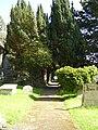 Church path at Clyro - geograph.org.uk - 1022223.jpg