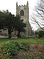 Churchyard and tower of St Mary and St Nicholas - geograph.org.uk - 1218958.jpg
