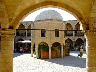 Turkish Cypriots - The Ottoman Turks built Büyük Han in 1572. Today it has become a thriving center of Turkish Cypriot culture